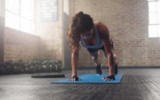 Берпи упражнение как правильно делать. Техника