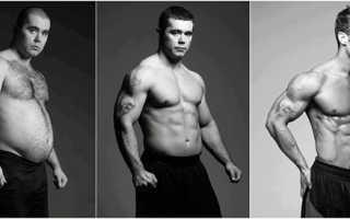 Как правильно питаться для похудения мужчине