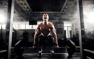 Упражнения для массы